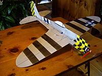 Name: IMGP0883_resize.jpg Views: 115 Size: 59.5 KB Description: Self designed Depron Thunderbolt ... flies great