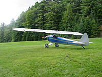 Name: Heath 006.jpg Views: 543 Size: 311.6 KB Description: My Heath Super V Parasol.  Never flew it but it is a beautiful plane.  Quite scale looking, don't you think?