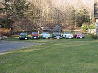 Name: Cars 020.jpg Views: 143 Size: 304.8 KB Description: Before I started this great RC hobby, I spent many hours restoring Brit Sports cars.  Here they are out for a picnic on a warm January day in NH a few years ago!