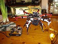 Name: IMGP1967_resize.jpg Views: 245 Size: 264.2 KB Description: DJI 550 Hexacopter.