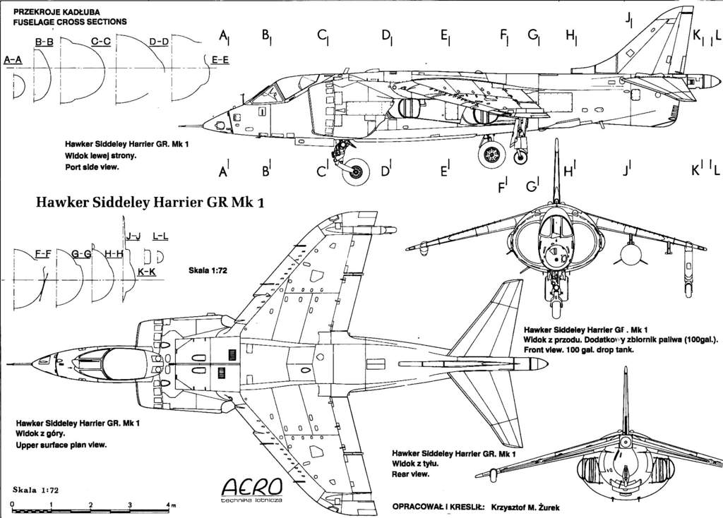 Blueprints For Harrier Jet Toy Airplane Videos 88