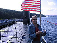 """Name: IMG_0311.jpg Views: 77 Size: 132.8 KB Description: My wife  Carol! """"She - Who Hates Submarines!""""  Oh yea? Really!"""