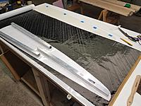 Name: 20200126_162859.jpg Views: 13 Size: 3.40 MB Description: Laying out parts on the 3 layer 59 g/m2 carboweave