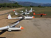 Name: Tortosa_01.jpg Views: 482 Size: 143.2 KB Description: Glider grid. Almost like on full size competitions!