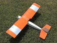 Name: Q-Tee 001.jpg Views: 485 Size: 53.1 KB Description: An original Airtronics Q-Tee, built and flown over 20 years ago on Cox .049 engines. Now e-converted, flys on stock GWS 350-C, 8x4SF, 3S-1500 Lipoly. Flys even better now than when it had the TD on it and I have throttle control.