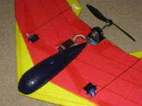 Name: MiniBee nose 2.jpg Views: 209 Size: 47.3 KB Description: Nose after 100+ ground hits. This is the glassed canopy.