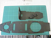 Name: IMG_0013.jpg Views: 34 Size: 611.0 KB Description: Internal ply formers/decks. Upper (smaller) former shows servo mounts for mapping gimbal