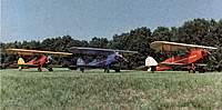 "Name: image10-2.jpg Views: 228 Size: 92.6 KB Description: ""BIRD's""   N-914V, N-98V, N-95V =. Photo taken in 1982"