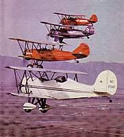 Name: image9-3.jpg Views: 269 Size: 103.1 KB Description: Top to bottom: 1) 1931 Waco QCF-2, NC11468,  2)  Waco QCF-2, NC12428,  3) 1929 Travel Air D-4000  4) Great Lakes 2T1A, NC294F.