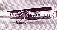 Name: image1-7.jpg Views: 223 Size: 70.0 KB Description: Spad VII, Powered by a water cooled 150hp Hispano-Suiza. Last known residence: Shannon Air Museum in Fredricksburg, Va. in 1976.