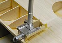 Name: DSC_0537.jpg Views: 4577 Size: 193.3 KB Description: Simple installation on wooden rails below wing.