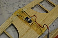 Name: DSC_0067.jpg Views: 3224 Size: 86.8 KB Description: HXT 900 servo for the ailerons with Dubro 1/2A aileron linkage