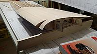 Name: 20141008_113820.jpg Views: 148 Size: 409.7 KB Description: The ribs sit on the jig tabs at the back and the bottom of the rib just aft of the spar. The spars dont touch.
