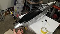 Name: Nose Repainted.jpg Views: 30 Size: 86.5 KB Description: Repainted the nose and prop/spinner in place for photo