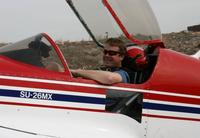 Name: IMG_1215.jpg Views: 598 Size: 44.3 KB Description: Scott in cockpit of N25SU