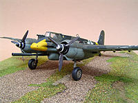 Name: Henschel HS-129 B-3a plastic model.jpg
