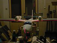 Name: Dornier do 26.jpg Views: 248 Size: 150.1 KB Description: Checking of dimension via laser. I saved lot of time .