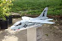 Name: a7 corsair.jpg Views: 734 Size: 211.6 KB Description: a7 pusher. 8x6, cheapo HK motor 2100 3s.