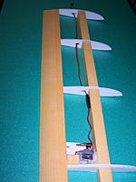Name: 100_5055.jpg Views: 359 Size: 108.2 KB Description: Servo is built in and the tip is ready to be covered with depron