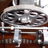 The New stronger main rotor gear and battery holder.