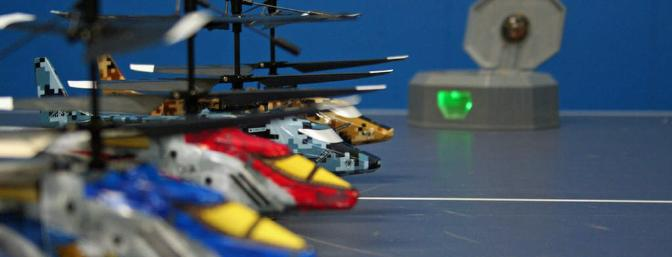 Flight line ready for full-on combat.