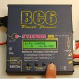 """We will change the 3.5amps to 2.1 for the current pack. The 3.5 from the previous picture is """"blinking"""" and was caught during the blink."""