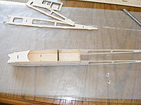 Name: fuse5.jpg Views: 121 Size: 177.8 KB Description: Landing gear formers in place and bottom nose sheeting glued in.
