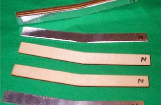 """Marking the narrow ends of the joiner/dihedral brace components with an """"N"""" helped prevent a mix-up."""