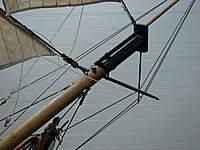 Name: DSC09539.jpg Views: 216 Size: 76.8 KB Description: Bowsprit yard secured