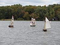 Name: 01 2010 Fleet sail.jpg Views: 126 Size: 109.7 KB Description: Fleet sail with Pictow, Syren and Surprise