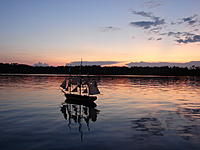 Name: 02 sunset.jpg Views: 81 Size: 173.0 KB Description: Surprise moving slowly through calm waters
