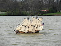 Name: DSC09917.jpg Views: 71 Size: 271.3 KB Description: Sailing large with all the canvas she could bear