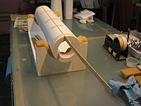 """Name: PB290029.jpg Views: 170 Size: 1.14 MB Description: I sandwiched a  1/16"""" x1"""" x 40"""" plywood in the seam."""