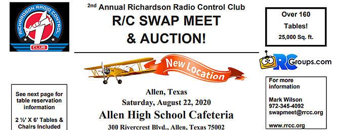 Richardson Radio Control Club R/C Swap Meet