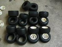 Name: tires sale.jpg Views: 84 Size: 41.1 KB Description: pic1-4sandblaster tire w/white rims lower right corner pending sale.