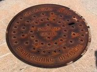 Name: OKC museum 003.jpg Views: 305 Size: 47.8 KB Description: OKC,,yeah,yeah its a drain cover.just like this pic for some reason.