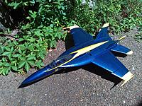 Name: IMG_20170531_105708.jpg Views: 19 Size: 1.16 MB Description: Starmax F/A-18E  +15years ≥ 50 flights. Failure in flight at wing attachment Point. Hard and Brittle Epoxy Failure. Those Bamboo Skewers I used at the wing joint Saved this one !!