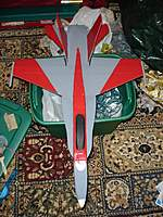 Name: DSC02189.jpg Views: 196 Size: 120.4 KB Description: F-18 Hornet from Steve Shumate plans.  Bluecore, first foam build