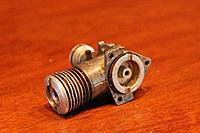 Name: WenMac_049_2_3.jpg Views: 72 Size: 65.9 KB Description: 13.  Wen Mac .049 #2 :: No piston or con rod, case damage (wear), see photos.