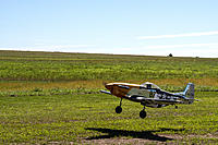 Name: P-51 Mustang GS Top Flite takeoff.jpg