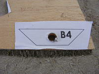 Name: DSCF6444.jpg Views: 589 Size: 84.2 KB Description: Hole drilled first in B4