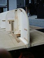 Name: DSC01389.jpg Views: 191 Size: 30.9 KB Description: Shaping the bow laminations for planking