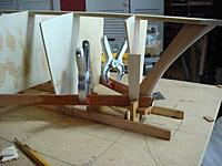 Name: DSC01392.jpg Views: 201 Size: 36.0 KB Description: 2 cedar planks glued together and to the stern frame
