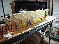 Name: DSC01393.jpg Views: 215 Size: 42.6 KB Description: 2 planks along the shear glued together with spacers to hold them in place