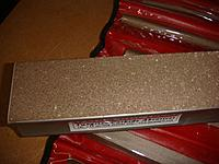 Name: DSC01645.jpg Views: 176 Size: 102.8 KB Description: Sanding bar is course on 1 side and fine on the other.