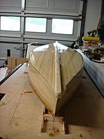 Name: DSC01767.jpg Views: 232 Size: 52.2 KB Description: You can see the aft right hand side that is going to require a bit more work to get right.