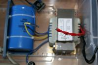 Name: IMG_0709.jpg Views: 695 Size: 40.6 KB Description: The two red leads of the transformer are soldered together.