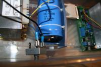 Name: IMG_0742.jpg Views: 674 Size: 50.5 KB Description: The blue wire coming out of the 10 amp fuse holder is attached to one of the terminals marked AC on the bridge rectifier.