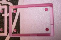 Name: IMG_1765.jpg Views: 382 Size: 59.5 KB Description: Test cut file for a bearing block for my Joe's CNC 4x4 Hybrid. File cut in Pink foam.