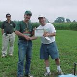 Doug Deyell, who came down from Peterborough, Ontario won the Best Scale prize for his scratch built Globe Swift.